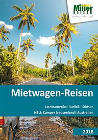 Titel Mietwagen-Reisen: Lateinamerika, Karibik, Südsee, Camper Neuseeland ... - 2018