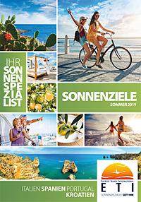 Titel Sonnenziele: Italien, Spanien, Portugal, Kroatien - Sommer 2019