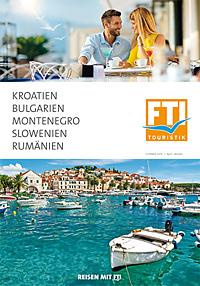 Titel Kroatien, Bulgarien, Montenegro, Slowenien, Rumänien - Sommer 2019