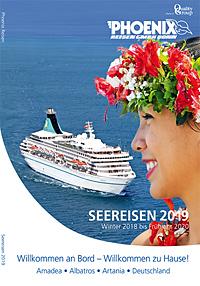 Titel Seereisen 2019 - Winter 2018 bis Frühjahr 2020