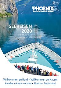 Titel Seereisen 2020 - Winter 2019 bis Frühjahr 2021